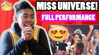 MUST SEE! Miss Universe 2018 - Catriona Gray's Full Performance HD FILIPINO REACTS!