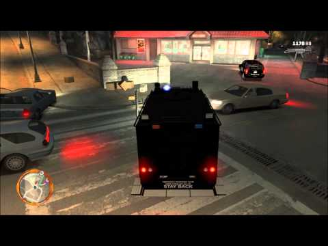 GTA IV RCMP Clan - Emergency Response Team (ERT/SWAT) Escaped Convicts Call