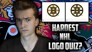 THE HARDEST NHL LOGO QUIZ?