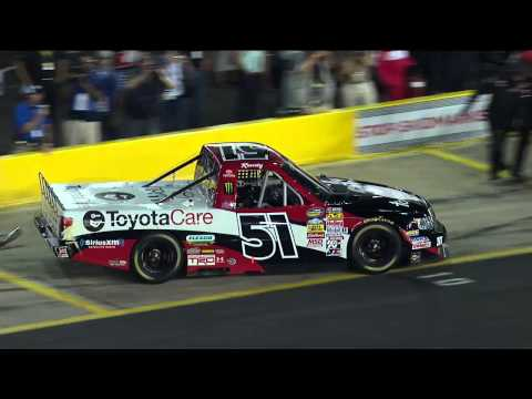 Kyle Busch Comes From Behind to Win