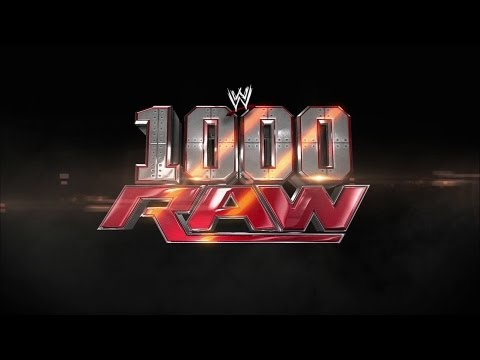 The opening to Raw's historic 1,000th episode: Raw, July 23, 2012