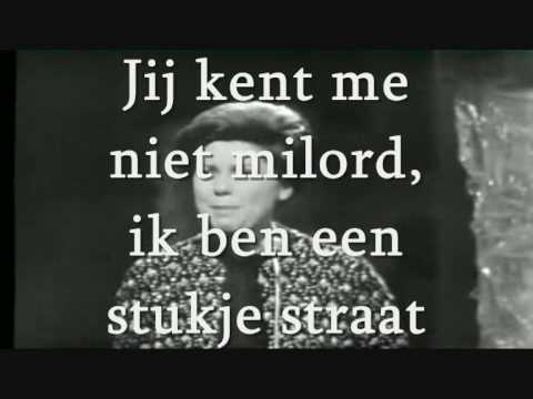 Milord - Corry Brokken karaoke