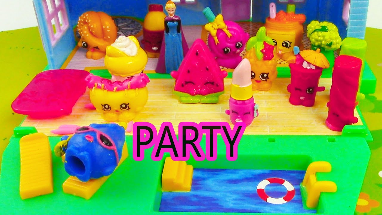 Mini Pool Party Shopkins Summer Pool Party