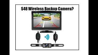 IStrong Wireless Backup Camera Review