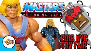 New HE-MAN MOTU Action Figures at 2018 New York Toy Fair