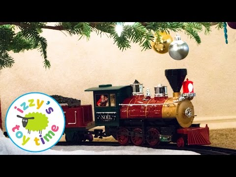 Toy Trains for Kids | Christmas Tree Train with Army Men! Fun Toy Trains for Kids