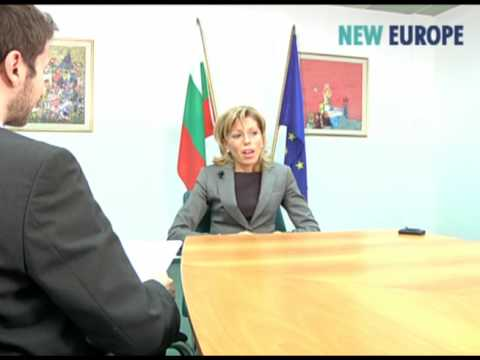Rumiana Jeleva; From Minister of Foreign Affairs, to EU Commissioner (full)
