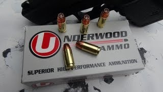 Underwood 9mm 115 gr +P+ JHP Ammo Test