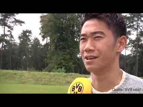 Shinji Kagawa glücklich: