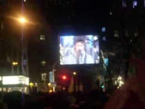 New York City Rockefeller Center Christmas Tree Lighting 2008! Miley, JB, + Beyonce Live!!