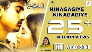 Nannusire Kannada Movie - Ninagaagiye Ninagaagiye   Video Song HD   Rahul, Keerthi