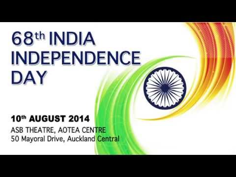 68th India Independence Day, Aotea Square Auckland, 10 Aug 2014