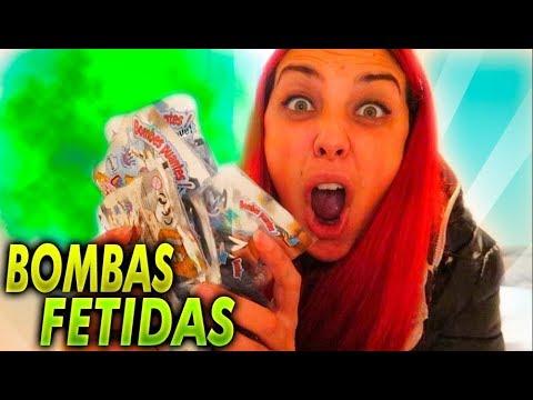 LE LLENO LA HABITACION DE BOMBAS FETIDAS!! BROMA MUY PESADA