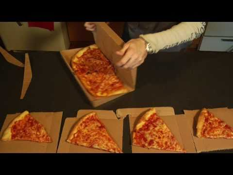 Thumb GreenBox: Caja de pizza que se convierte en platos y caja de sobras