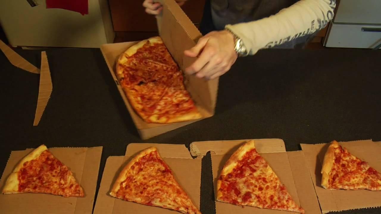 GreenBox Pizza Box Turns Into Plates amp Storage Unit YouTube