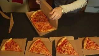 Thumb GreenBox: Caja de pizza que se convierte en platos y caja de sobras