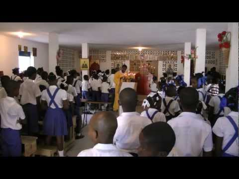 Orthodox Haiti Schools -  Nativity of the Mother of God School in Port-au-Prince
