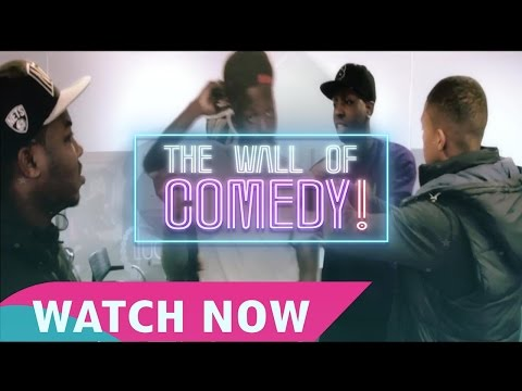 Mandem On The Wall - WHO'S THAT JAMMING ON THE WALL (OFFICAL MUSIC VIDEO) (produced by Deanyboy)