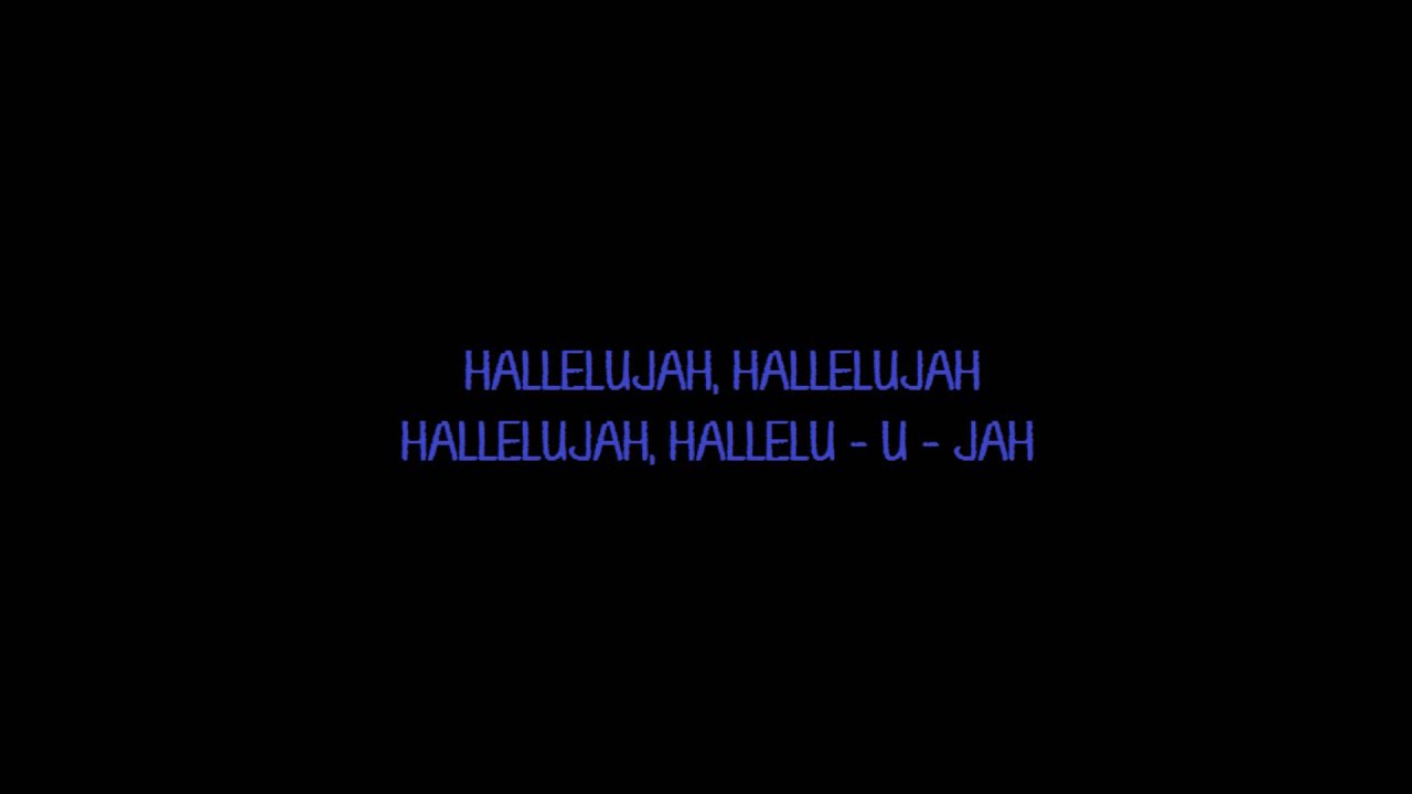 Hallelujah Lyrics Leonard Cohen Original Hallelujah Lyrics Leonard