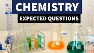 Expected Chemistry MCQ questions for SSC CGL, CHSL by StudyIQ Coaching Center
