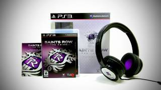 Saints Row The Third Platinum Pack Unboxing