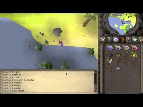Runescape 2007 – Fishing Guide 1-99