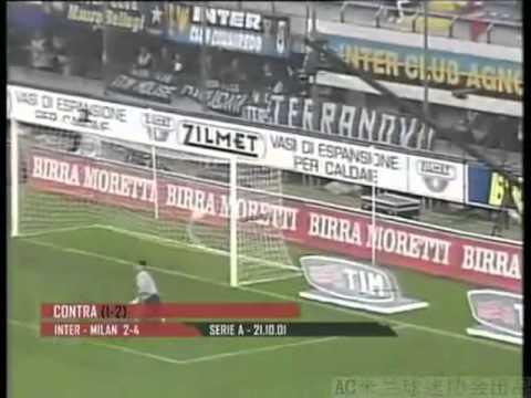 Videoteca Gol Milan 2001-02