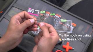 ***CARP FISHING TV*** How To Tie a Heavy Bottom Bait Rig