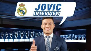 "Luka Jović EXCLUSIVE interview: ""It's such a pleasure to wear a Real Madrid shirt!"""