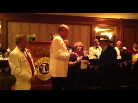 POW Sgt. Bowe Bergdahl inducted as Lion, Wood River Lions Club ID