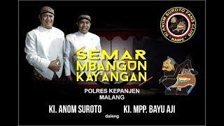 KI H. ANOM SUROTO & KI MPP. BAYU AJI. POLRES KEPANJEN. MALANG 6 JULI 2018