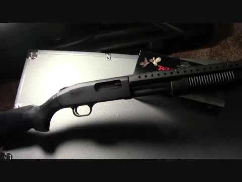 Mossberg 590 Special Purpose Shotgun Shooting and Review