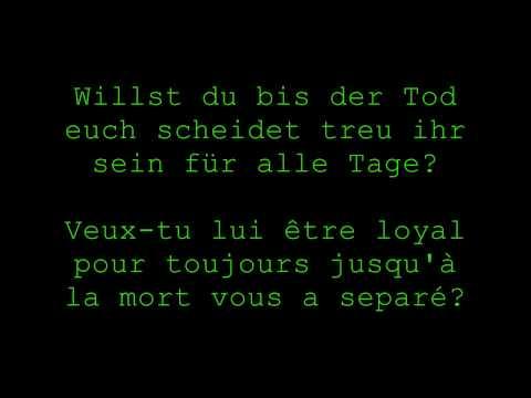 De-fr Rammstein-sehnsucht-du Hast video