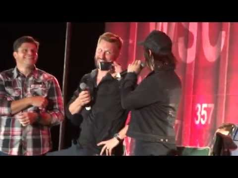 Bromance Panel: Andrew Lincoln and Norman Reedus