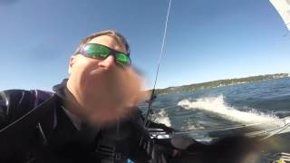 20160506 Prindle Sailing with Bill 15 knots