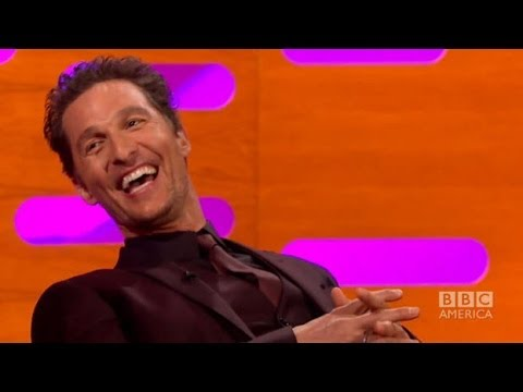 MATTHEW McCONAUGHEY on Stripping in Magic Mike - The Graham Norton Show on BBC AMERICA