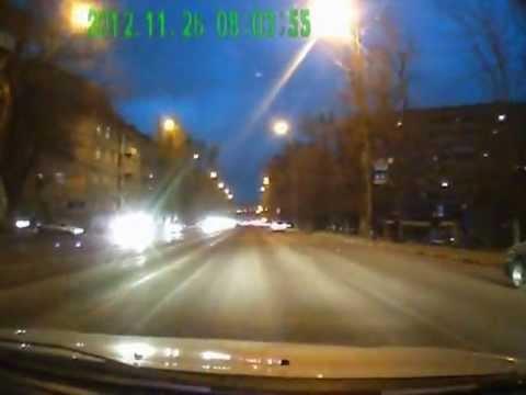 Массовая авария в Саратове