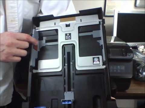 HP Officejet Pro 8100 ePrinter Unboxing & Setup