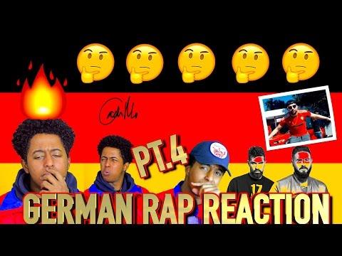 FIRST REACTION TO GERMAN RAP/HIP HOP PART 4