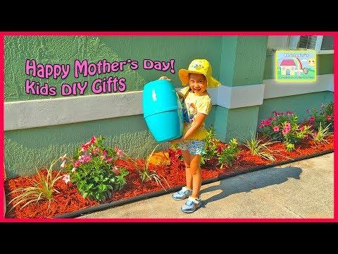 BEST MOTHER'S DAY GIFT + Giant Egg Surprise Opening Toys Surprises Flowers Frozen Elsa Anna Kids DIY