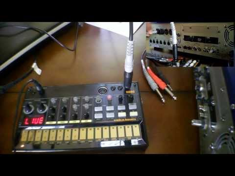 Korg Volca Beats, low volume? Use TS or TRS to split TS cable