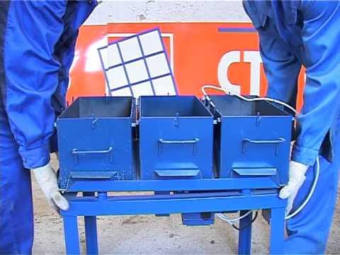 Производство строительных блоков