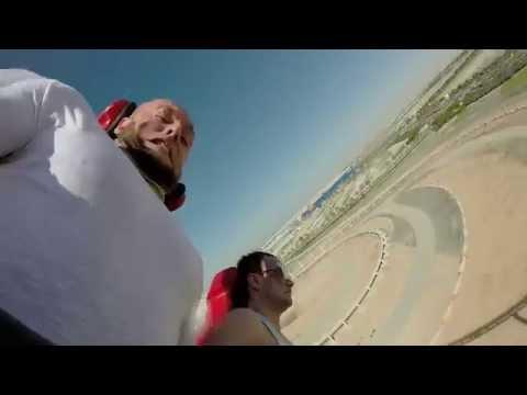 Горка Феррари в Абу-Даби. 240 км\ч. Чувакам Раздуло Лицо. ЖЕСТЬ.