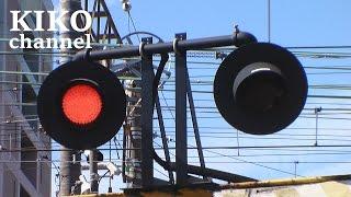 電車と踏切の動画 JR特急と普通電車に新快速の通過集 京都線の蔵垣内一踏切と蔵垣内二踏切から railroad crossing japan
