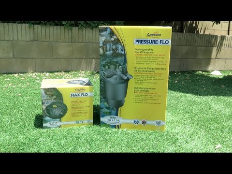 Review: Laguna Pressure Flo Filter 1400 with UV Clarifier