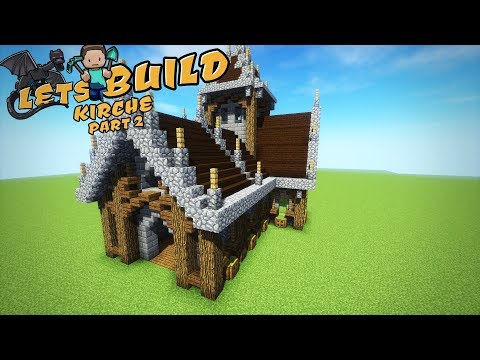 MITTELALTERLICHE KIRCHE in Minecraft bauen | Tutorial | Part 2