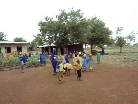 How They Educate Kids in Borno State, Nigeria, under Trees