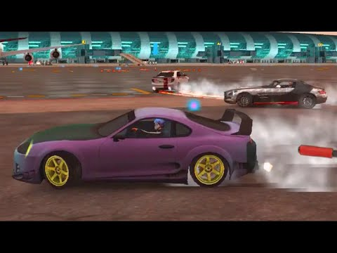 Mobile iOS - Dubia Drifts 2 - Online Drifting Cone Attack!