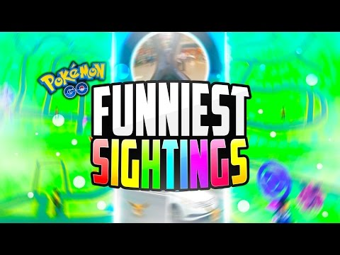 Pokemon Go - The Top 5 FUNNIEST Pokemon Go Sightings! (Funny Pokemon Go FAILS)