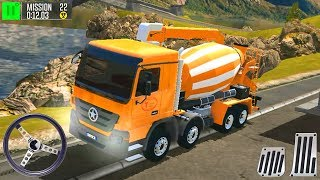 Driving Island: Delivery Quest Cement Mixer - Best Android GamePlay